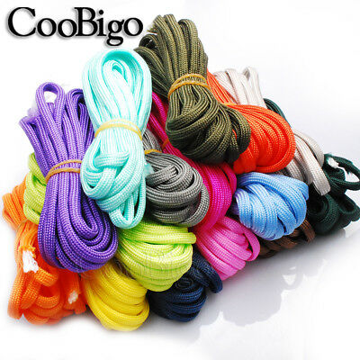 10FT Parachute 550 Cord Rope Mil Spec Type III 7 Core Strand Paracord Bracelet