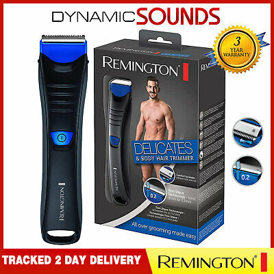 Remington Delicates Body And Hair Trimmer Shaver Hair Removal For Men BHT250