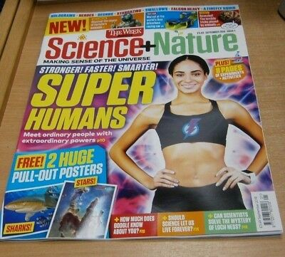 The Week Junior Science & Nature magazine Issue #1 SEP 2018 Super Humans, Swallo