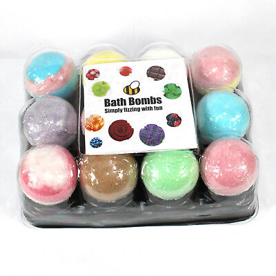 Bath Bombs Bee Free mix 12 x 65g mixed scent Bee Beautiful no petals