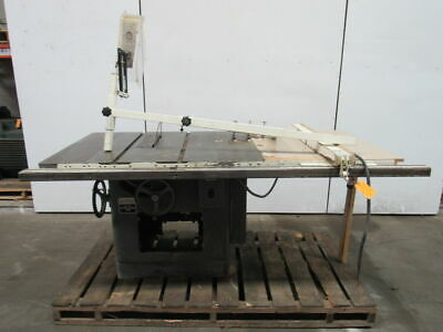 "Delta Rockwell 34-395 12""-14"" Tilting Arbor Saw Table Saw 5hp 230/460V 3ph"
