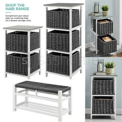 2 Tier Natural Bamboo Wooden Shoe Rack Bench Organiser Stand Storage Shelf Unit