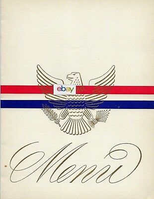 United States Lines Ss America 9/1960 Lunch Menu Captain Fender
