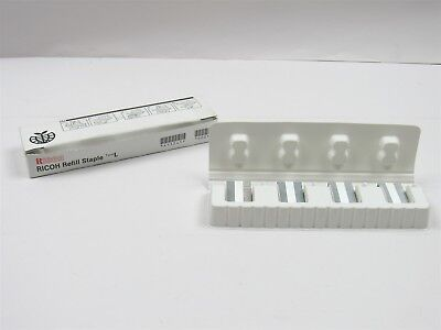 New in Box Genuine Ricoh Refill Staples Type L Supports Saddle Stitch 411241