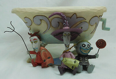 Disney Enesco 6000953 TRicksters and Treats Nightmare before Christmas Angst