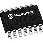 Mcp3204T-Ci/sl - Tape and Reel with 3 Pieces - Microchip Technology Data Acqu...
