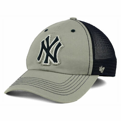 info for 1b53f 9a968 New York Yankees MLB  47 Brand Taylor Closer Cap Hat Mesh Men s Baseball NY  Gray