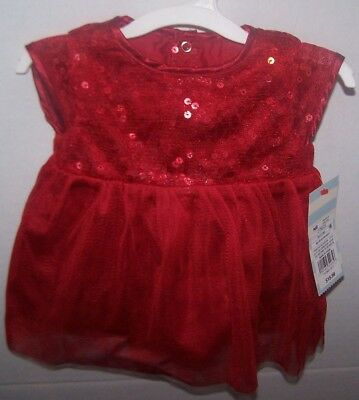60d4327dea75 CAT & JACK- red sequin and tulle Dress- Girls size M- 7/8 - $11.50 ...