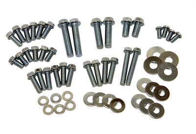 54 Piece Motorcycle Hardware Kit Assorted Metric Bolts & Washers 8mm 10mm M6 M8