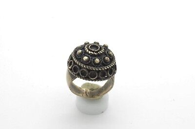 Post Medieval period Silver ring 18 Century