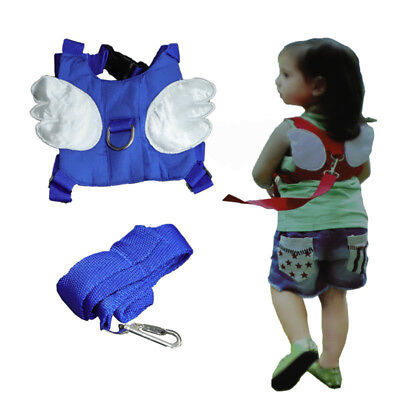 Anti-lost Baby Toddler Walking Belt Wings Backpack Safety Harness-Child Reins AU
