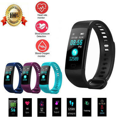 Y5 Fitness Activity Tracker Smart Watch Blood Pressure Monitor for Android IOS