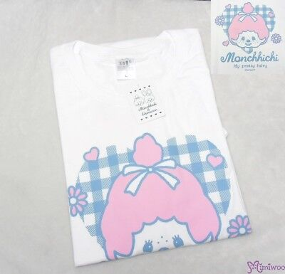 Monchhichi Tee L Size Chimutan Chim Tan Fashion 100% Cotton (For Adult Use)