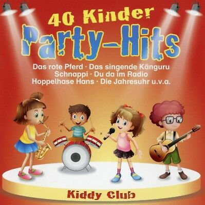 KIDDY CLUB - 40 Kinder Party-Hits, 2 Audio-CDs