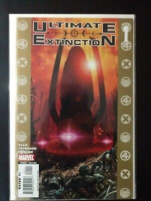 Ultimate Extinction issues 1-5 complete run