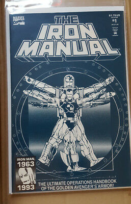 The Iron Manual # 1 (One-Shot),  - Marvel Comics / Vfn-  / Preowned / 1993