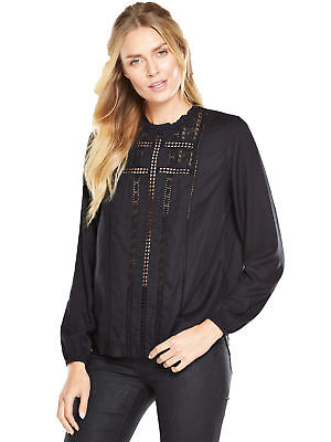 V By Very Victoriana High Neck Blouse