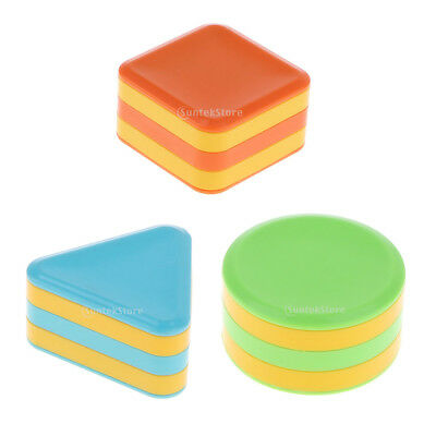 Plastic Sand Drum Musical Instrument Toy for Kids Toddler Baby Pack of 3