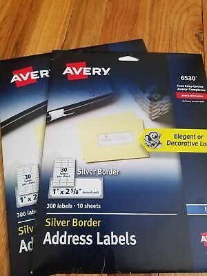 avery address labels with sure feed for inkjet printers 1 x 2 5 8