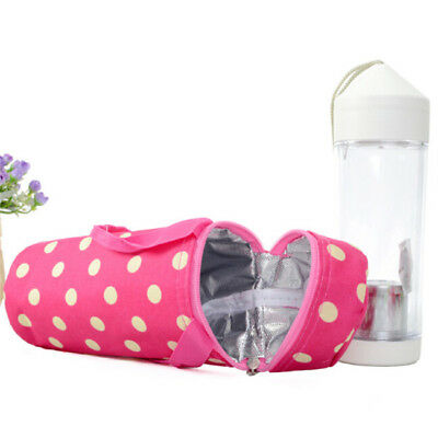 Practical Insulated Baby Bottle Bag Keep Warm Portable Travel Thermal Tote Bag D