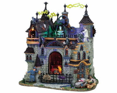 Lemax 2013 Frankenstein's Laboratory #75501 NEW FREE SHIPPING 48 STATES