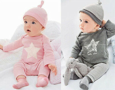 3PCS Set Baby Boys Girl Long Sleeve tops +Pants+hat Kids Casual Clothes Outfits