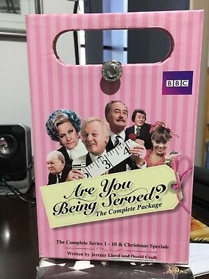 Are You Being Served Complete Package DVD R4 Includes Unique Hand bag Packaging