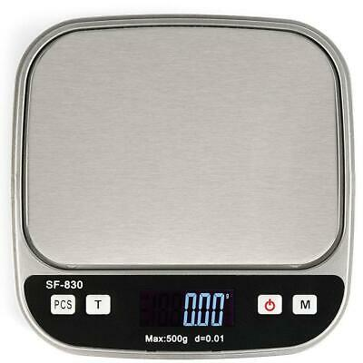 Mini Precision Digital Scale 0.01g/500g Lab Jewelry Gold Electronic LCD Scale