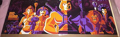 HE-MAN AND THE MASTERS OF THE UNIVERSE TOM WHALEN MATTEL PRINT Skeletor Mondo