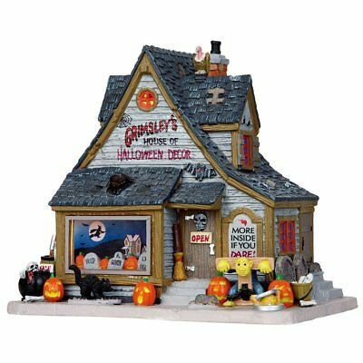 Lemax 2016 Grimsley's House Of Halloween Decor #15193 NEW FREE SHIP 48 STATES
