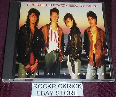 Pseudo Echo - Love An Adventure -10 Track Cd- (5730-2-Rx Re) Made In U.s.a.