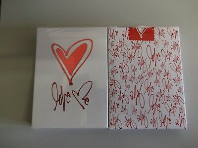 "SEALED PACK ""Bicycle Type - Love Me (SUPERB)"" Pack of Playing Cards"