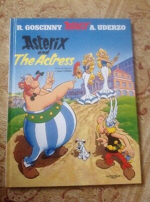 Asterix and the Actress: Album 31 by Albert Uderzo, Rene Goscinny (Hardback)
