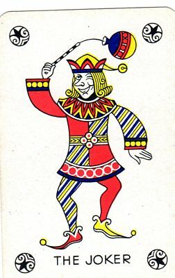 "RARE VINTAGE ""The Joker (Rev = Falcon Beers) "" JOKER Playing Card #01"
