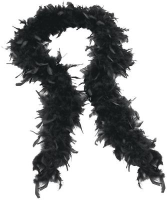 Quality Feather Boa Boas Black Hen Night Burlesque Dance Party Show Costume