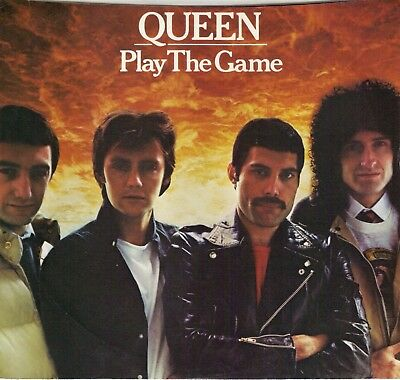 QUEEN  Play The Game / A Human Body (nonalbum track) 45 with PicSleeve
