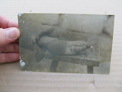 Vintage RPPC Postcard China Chinese Bound Bounded Foot - Tientsen