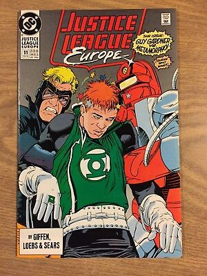 Justice League Europe #11 1989 VF to NM  DC