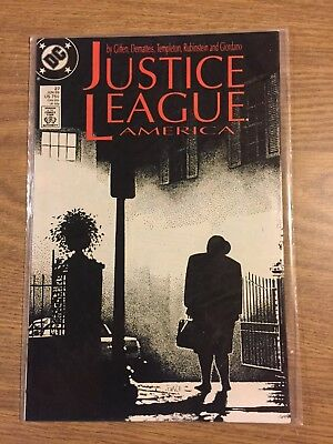 Justice League America #27 1989 FN to VF  DC