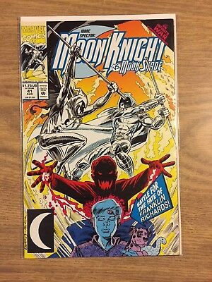 Marc Spector Moon Knight #41 1989 VF to NM