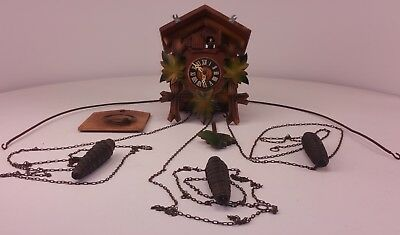 Cuckoo Clock Made in Germany GM Angem Forestall on Movement FREE UK P&P