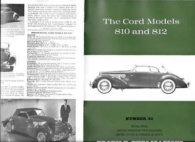 CORD Models 810 & 812 - Profile Publication from the UK (1966)