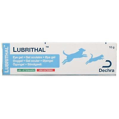Lubrithal Eye Gel 10G Maintain Moisture Lubricating For Cats Dogs Safe Easy Use