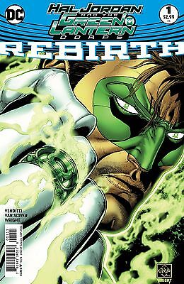 HAL JORDAN AND THE GREEN LANTERN CORPS REBIRTH #1, New, DC (2016)