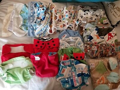Huge cloth diaper lot flip, thirsties and more
