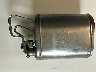 Vintage Eagle Mfg Co No. 1301 1 GALLON Stainless Steel Container Made in U.S.A.