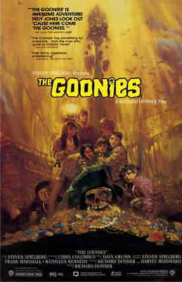 THE GOONIES Movie Poster | 11x17 | Licensed - New | (1985)