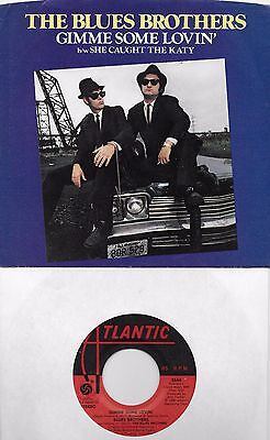 THE BLUES BROTHERS  Gimme Some Lovin' 45 with PicSleeve JOHN BELUSHI
