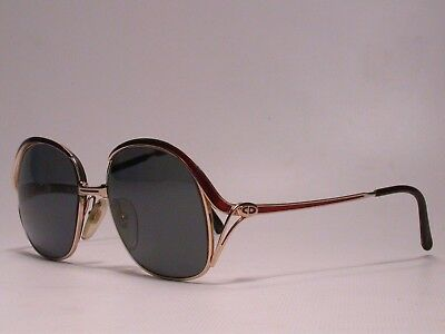 Authentic Vintage Christian Dior Oversized Luxury Sunglasses Frames Eyeglasses