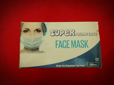 Earloop Anti-Dust Mouth-muffle Face Mask For Labs 100 pieces